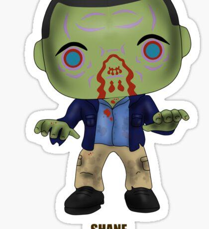 Zombie Shane Sticker