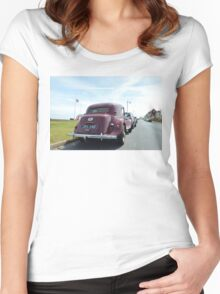Vintage Traction Avant Women's Fitted Scoop T-Shirt
