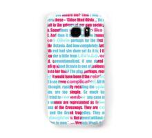 Chloe & Olivia Samsung Galaxy Case/Skin