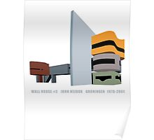 Wall House #2 John Hejduk Architecture T-Shirt Poster