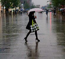 Rainy street by maka1967