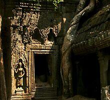 derilict angkor temple by Jason Kumar