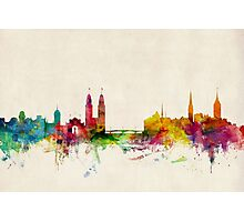 Zurich Switzerland Skyline Photographic Print