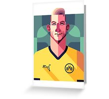 Marco Reus Vector Art Greeting Card