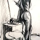 Life Drawings 2 by Garth Horsfield