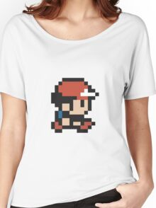 Ash Ketchum - Pokemon - Pixel Women's Relaxed Fit T-Shirt