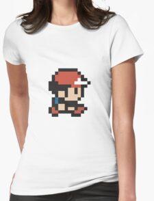 Ash Ketchum - Pokemon - Pixel Womens Fitted T-Shirt
