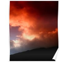 Sunset atmosphere Poster