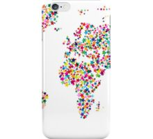 Stars Map of the World Map iPhone Case/Skin