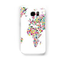 Stars Map of the World Map Samsung Galaxy Case/Skin