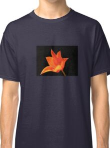 T Shirt Orange Flower  Classic T-Shirt