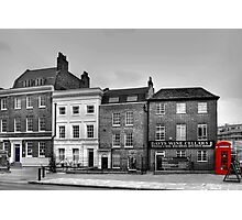 Greenwich High Road Telephone Box Photographic Print