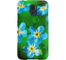 Forget-me-not flowers Samsung Galaxy Case/Skin
