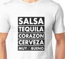 Salsa Tequila Corazon.. Unisex T-Shirt