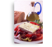 A Greek Salad Canvas Print