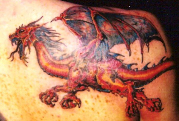 Red Dragon. by George Yesthal