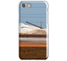 Rio Tinto Salt Pile- Port Hedland. WA iPhone Case/Skin