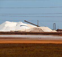 Rio Tinto Salt Pile- Port Hedland. WA by caz60B