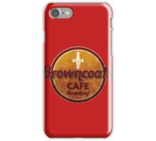 BROWNCOATS CAFE iPhone Case/Skin
