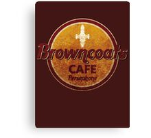 BROWNCOATS CAFE Canvas Print