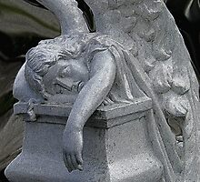 Exhausted Guardian Angel by Al Bourassa