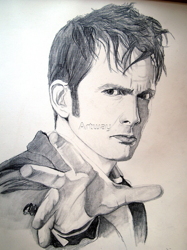 The Tenth Doctor Sketch by Artway