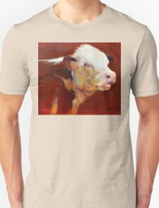 Fillion, ( cow ) from original oil painting by Madeleine Kelly Unisex T-Shirt