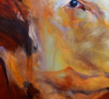 Fillion, ( cow ) from original oil painting by Madeleine Kelly Sticker