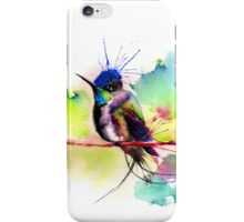 """Spatuletail Hummingbird"" iPhone Case/Skin"