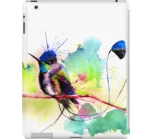 """Spatuletail Hummingbird"" iPad Case/Skin"