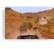 Pilbara 4WD Convoy Canvas Print