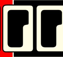 Moog  Synth WBR  Sticker
