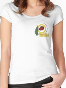 Pocket Version Tee Potato Redskins Women's Fitted Scoop T-Shirt