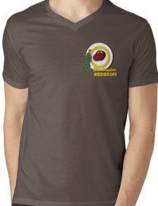 Pocket Version Tee Potato Redskins Mens V-Neck T-Shirt