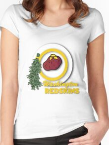 Potato Redskins Women's Fitted Scoop T-Shirt