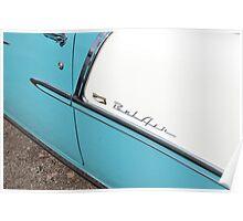 Classic Bel Air Detail Poster