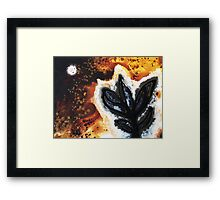 Abstract Landscape Art - New Growth - By Sharon Cummings Framed Print