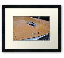 Classic Hood Detail Framed Print