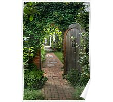 Spindletree Walled Garden Poster