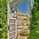Through The Gate to the Italian Water Garden by Marilyn Cornwell