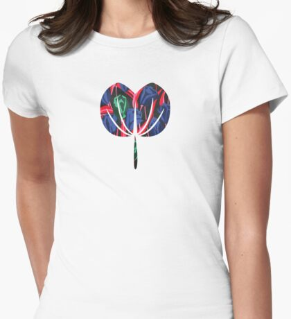 Tulips 2 Womens Fitted T-Shirt
