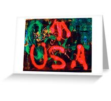 Born In The U.S.A. Greeting Card