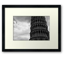 While lining up Framed Print