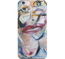 Conversation on Canvas iPhone Case/Skin