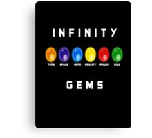 The Infinity Gems Canvas Print