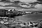 Indian Harbour - B&W by PhotosByHealy
