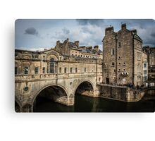 Bath's Pulteney Bridge #2 Canvas Print