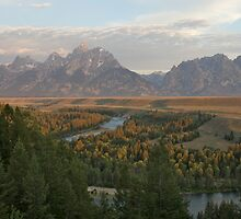 Snake River Sunrise by jfew