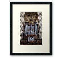 The Bath Abbey's Organ Framed Print