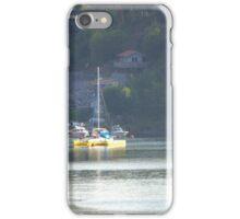 Small Yellow Trimaran iPhone Case/Skin